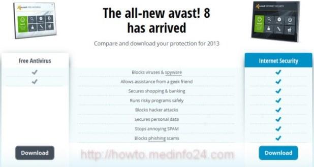 Avast 8 Antivirus