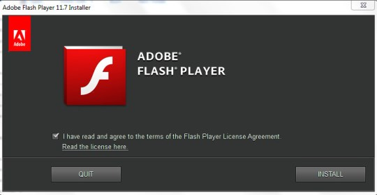 Download Adobe Flash Player 11.7 Offline Installers