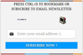 How To Add Beautiful Email Subscription Widget To WordPress or Blogger