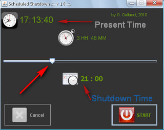 How to Auto Shutdown your Computer After a Specific Time With Software