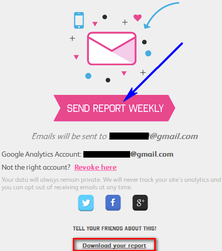 How To Get Google Analytics Report of Your Site in Infographic