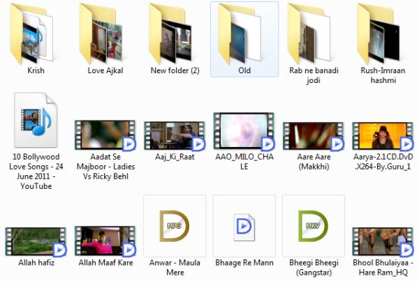 How to Show Thumbnail Image on Video Files of Hard Drive How to Show Thumbnail Image on Video Files of Hard Drive