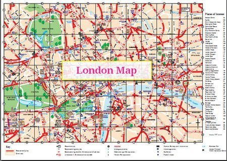London City Map Image