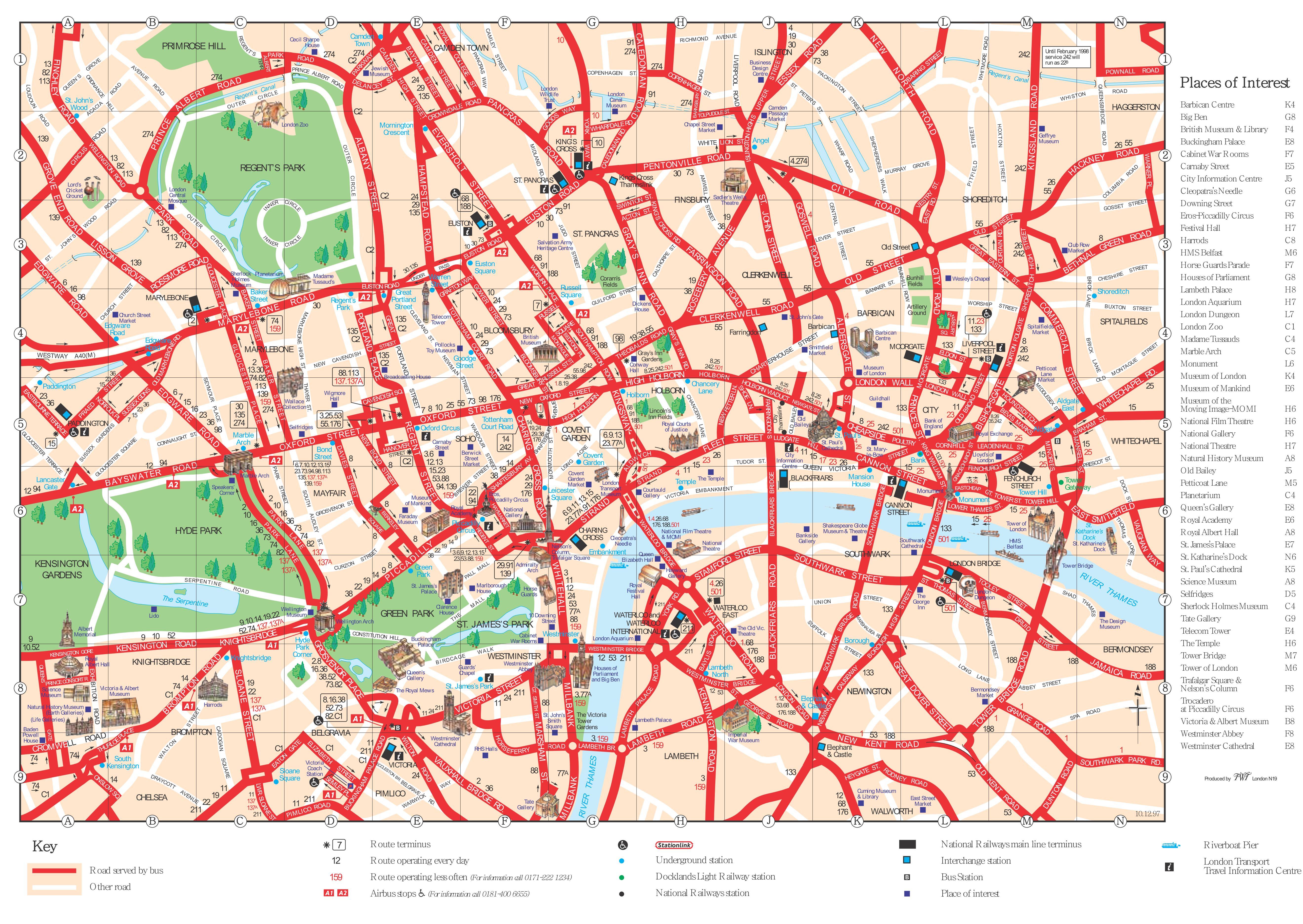 download london city map visitor guide free application. Black Bedroom Furniture Sets. Home Design Ideas