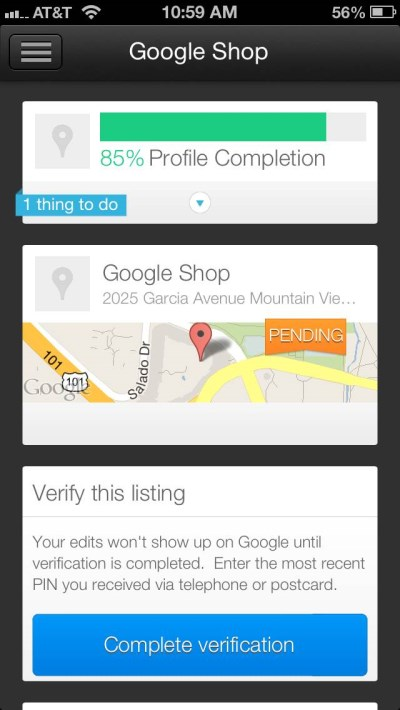 Download Google Places for Business App
