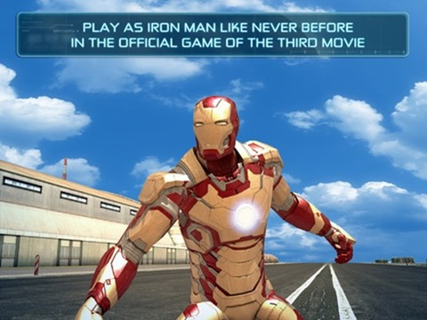 Free Download Gameloft Iron Man 3 For iOS And Android