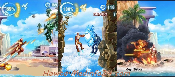 Free Download Gameloft Iron Man 3 For iOS, Android, Java Symbian Mobile