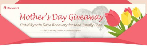 Free Download $89.95 iSkysoft Data Recovery for Mac Mothers Day Giveaway