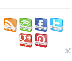 Steps to Add Stylish Rotating Social Icons in Blogger