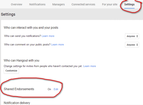 Prevent Google From showing your Profile name and Photo in their Ads (2)