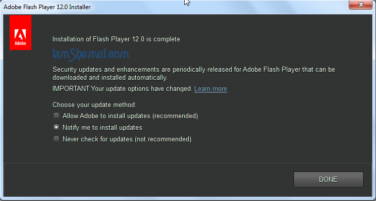 Adobe Flash Player 12 Full Offline Download Installers