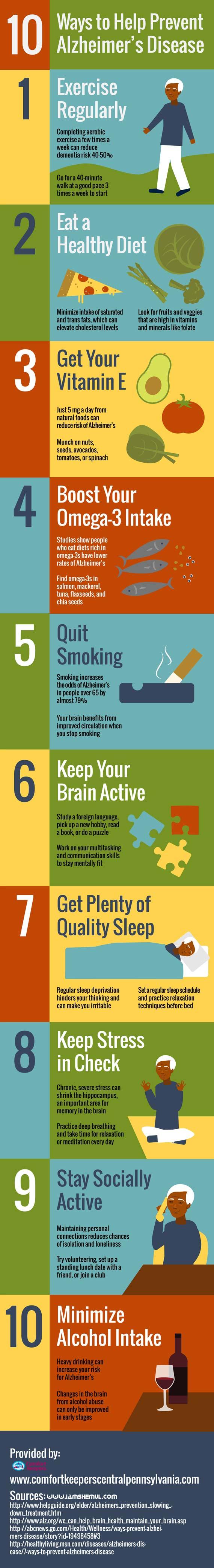 How To Prevent Alzheimer's Disease 10 Best Ways