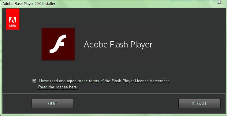 Download Adobe Flash Player 20 Offline for Internet Explorer and Others