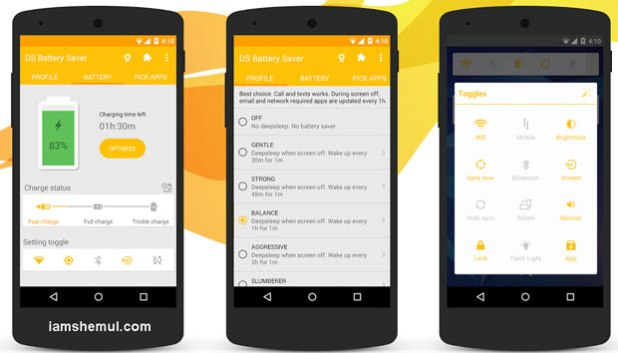 Best 3 Android Apps to Prolong Battery Life That Really Works
