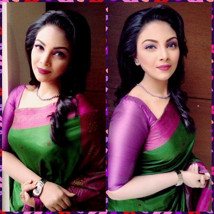 Bangladeshi Beautiful News Presenter Safina Ahmed Tory Photos (2)