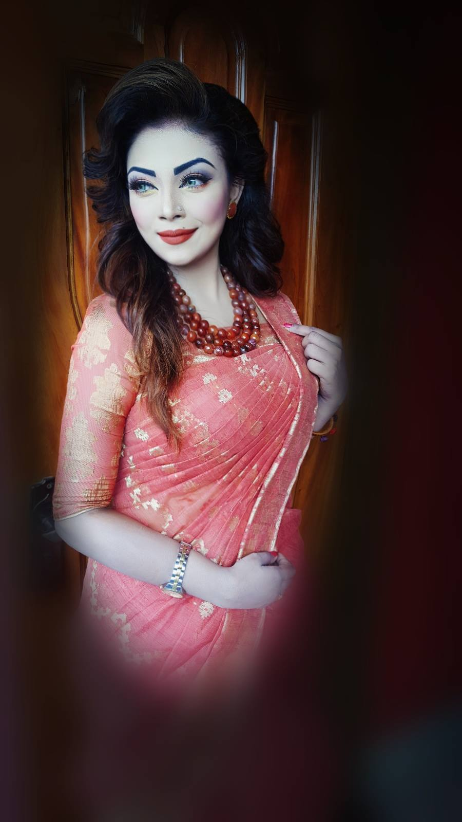 Bangladeshi Beautiful News Presenter Safina Ahmed Tory Photos (24)