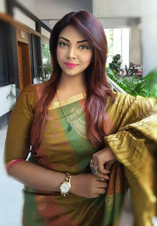 Bangladeshi Beautiful News Presenter Safina Ahmed Tory Photos (8)
